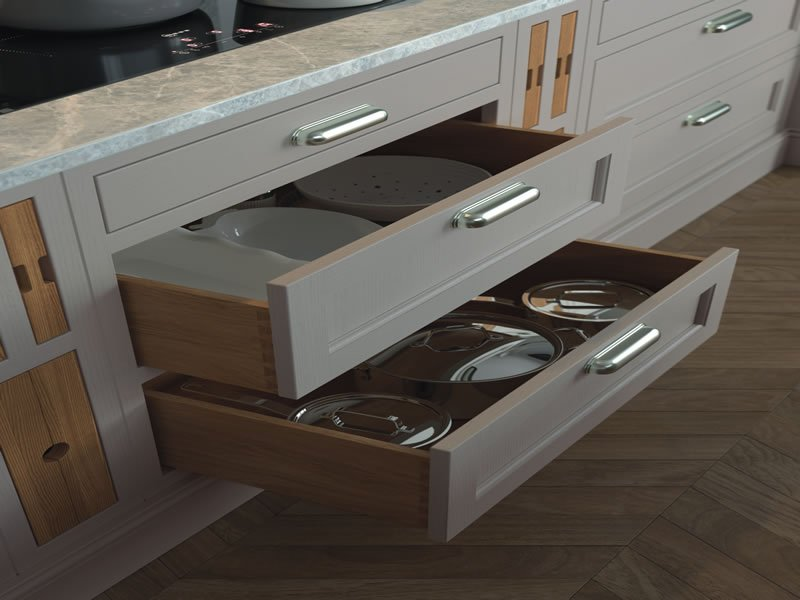 Larders and Drawers - joe harten kitchens cavan
