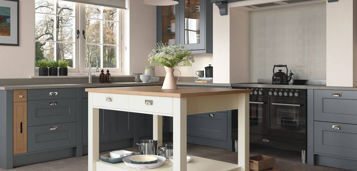 in frame and country style kitchens - joe harten kitchens cavan