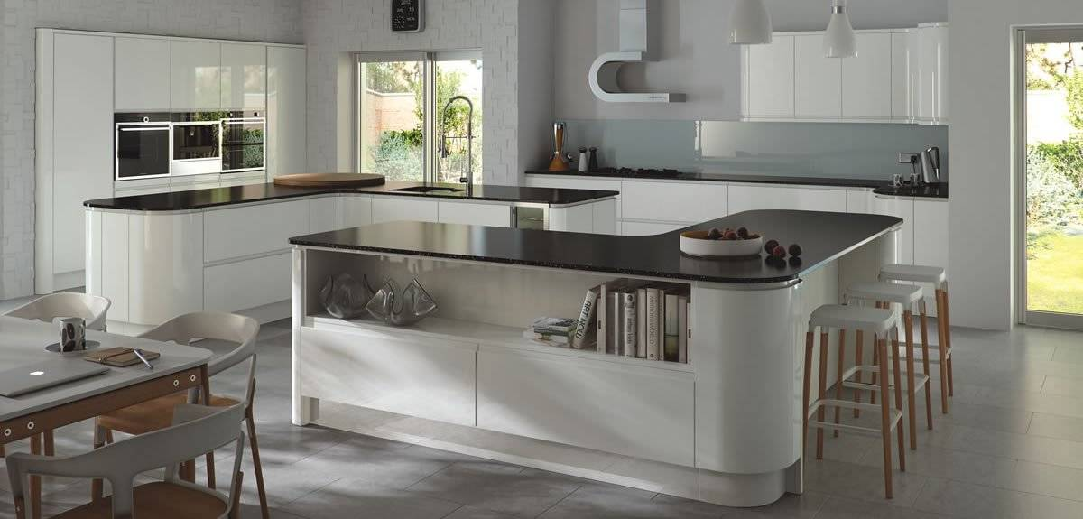 contemporary style kitchens - joe harten kitchens cavan